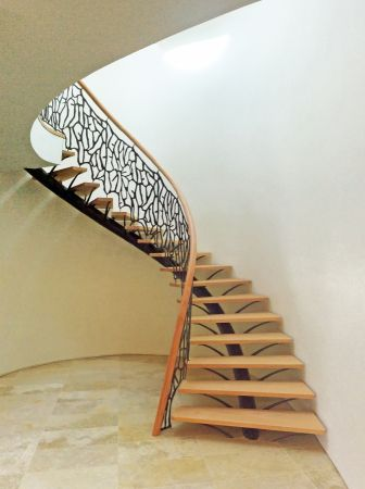central spine stairs 1