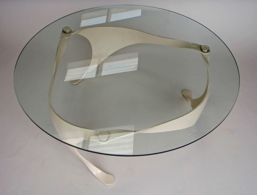 glass table top view. Cream Finish Trisail Table. Top View Glass Table