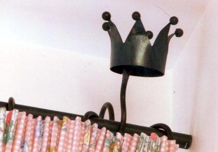 crown curtain bracket